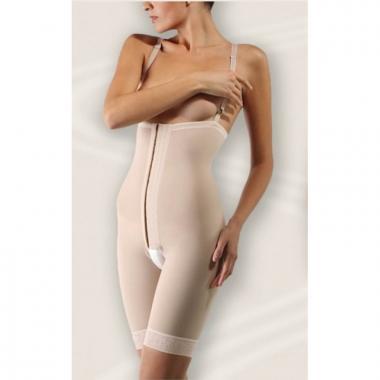 Бандаж с высоким поясом после операции на животе при опущении органов