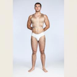 Жилет мужской, компрессионное белье после гинекомастии, липосакции