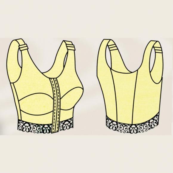 Бюстгальтер компрессионный для груди, после операций, для спорта