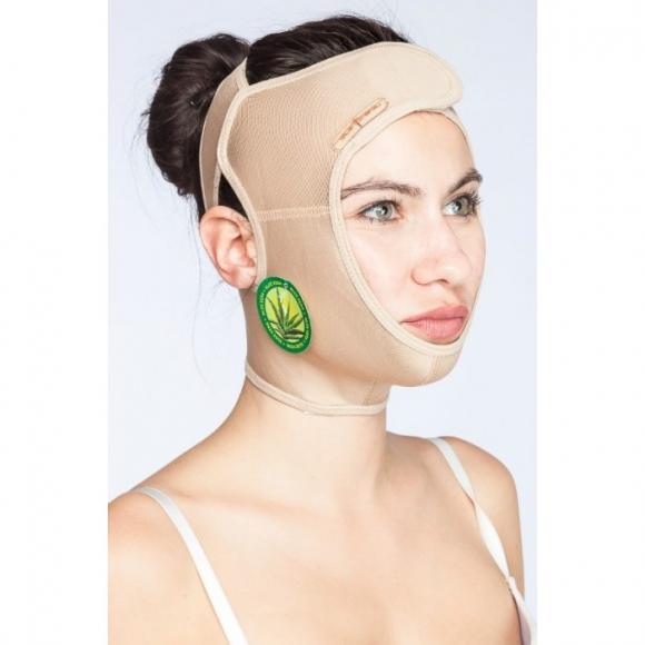 Маска компрессионная послеоперационная после фейслифтинга, бандаж для подтяжки кожи лица