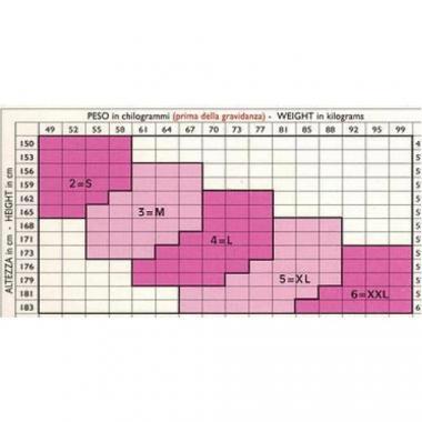 Колготки нестандартного размера (19-22mmHg) 140 Den