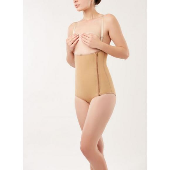 Компрессионное белье - боди для талии с высокой спиной и бретелями