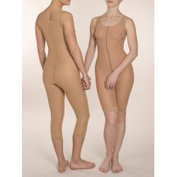 Компрессионный комбинезон от груди до середины бедра