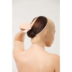 Компрессионная маска, заходящая за ухо после инъекций, фейслифтинга