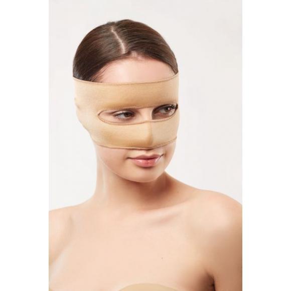 Компрессионная повязка на нос (ринопластика)