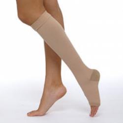 Чулок  2 компрессии (чулок до колена)  кругловязаный для лечения венозной недостаточности и лимфостаза