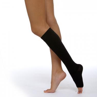Чулок 3 компрессии (чулок до колена) кругловязаный для лечения венозной недостаточности и лимфостаза