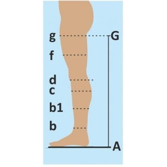 Чулки компрессия-2 с мыском