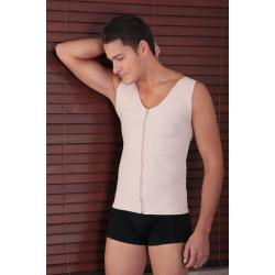 Компрессионный жилет послеоперационный для мужчин, на грудь, живот, белье после гинекомастии
