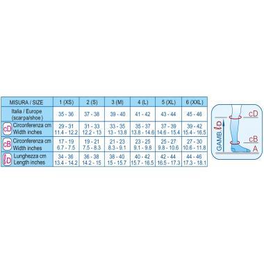 Гольфы компрессионные для путешественников (12-15mmHg) черн