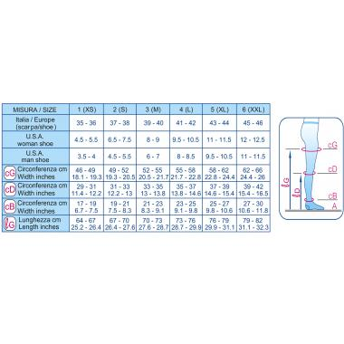 Колготки антиварикозные (20-30 mmHg) K1  SCUDOTEX