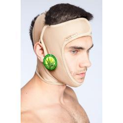 Мужская маска компрессионная послеоперационная, бандаж для лица и головы