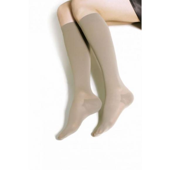 Компрессионные чулки до колена с закрытым носком с хлопком средней компрессии  8211